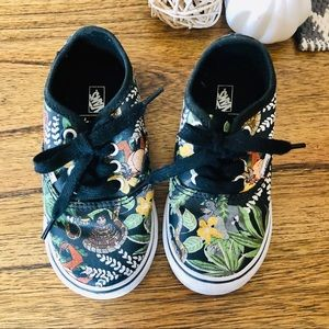 Vans x Disney Jungle Book toddler shoes